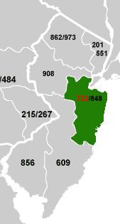 Area Code USAcom - 732 area code